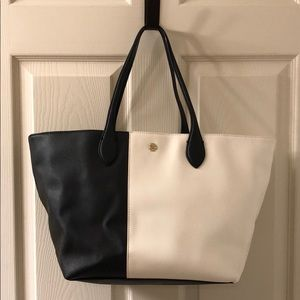 New with tags! Ann Taylor Black and White Tote
